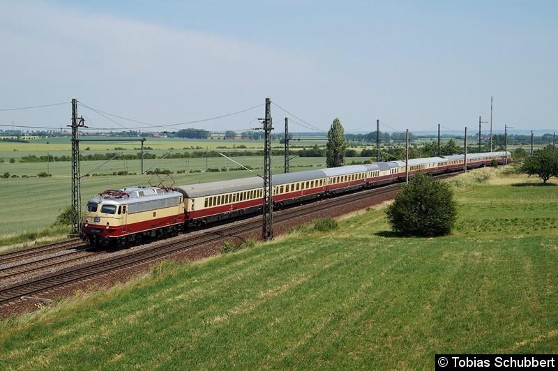 E 10 1309  mit AKE-Rheingold in Seebergen