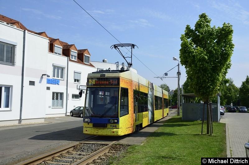 1140 als Linie 2 an der Endstelle Grünau-Süd