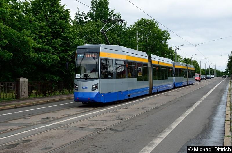 1326 + 1325 als Linie 31 auf der Richard-Lehmann-Str.