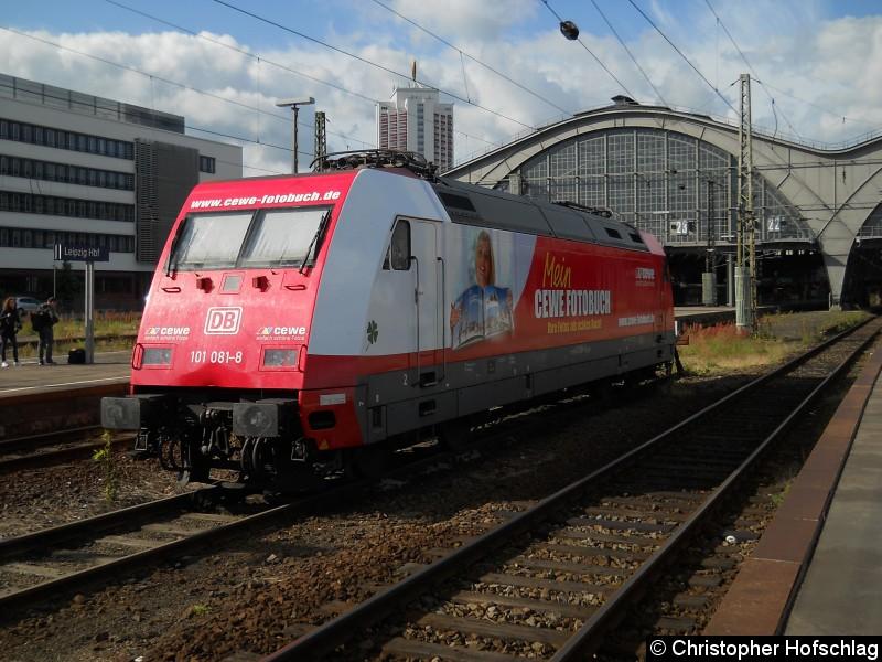 Bild: In Leipzig Hauptbahnhof.
