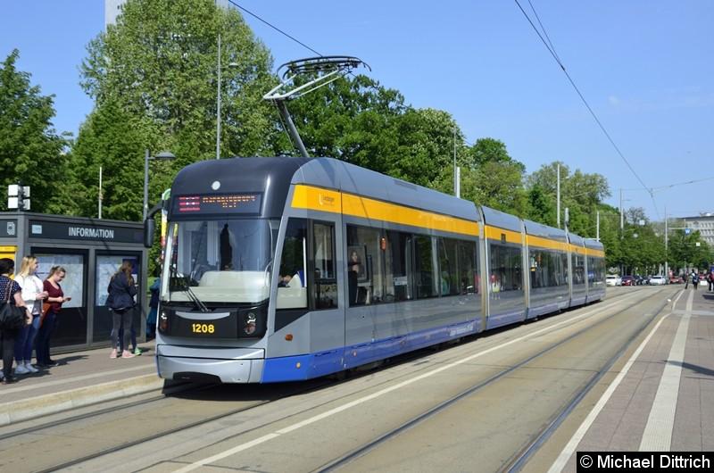 1208 als Linie 11 am Wilhelm-Leuschner-Platz.